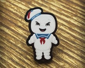 Stay Puft Marshmallow Man Acrylic Pin Brooch