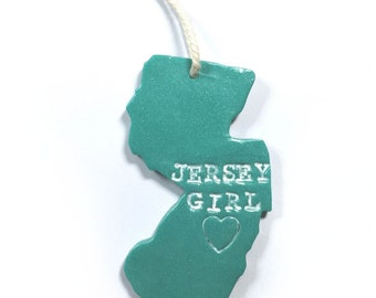 Jersey Girl New Jersey Ornament