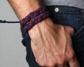 Bracelet, Bracelets for Men, Wrap Bracelet, For Men, Mens Bracelet, Boyfriend, Boyfriend Gift, Guys Bracelet, Bracelet Men, Braided Bracelet