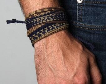 Mens Bracelet, Bracelet For Men, Boyfriend Gift, Gift Idea, Gift for Men, Boyfriend, Mens Jewelry, Bracelets, Wrap Bracelet, Men Bracelet