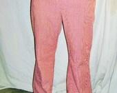 Vintage Wrangler Rust Plaid Jeans 34/30