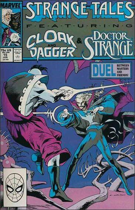 Issue #14 Strange Tales Cloak and Dagger Dr Strange Comic Book in Vf-Nm Condition