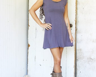 Tank Tunic Dress (Soy or Bamboo Organic Cotton)