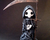 "Tarot Poppet - ""Death"" Limited Edition Tarot Poppet #30/100 by LSnellings"