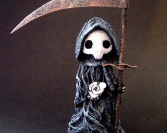 """Tarot Poppet - """"Death"""" Limited Edition Tarot Poppet by LSnellings"""