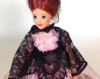 1970s Jody Doll by Ideal in Handmade Spanish Flair Costume