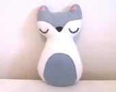 Fox Plush - Woodland Decor - Fifi The Grey Fox - Fox Nursery Decor - Fox Baby Gifts - Christmas Gift