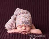 Newborn Hat Pattern, Knitting Pattern, Newborn Stocking Hat Pattern, Newborn Knit Pattern, Newborn Knit Hat, Newborn Knitting Patterns