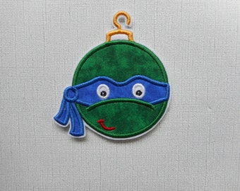 Free  Shipping  Ready To Ship  Turtle Ornament  Fabric iron on applique