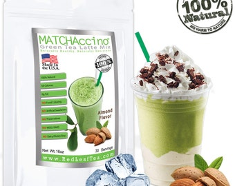 Matcha Green Tea Almond Frappe/Latte Mix