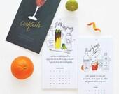 2016 Classic Cocktail Calendar