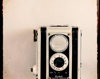 Vintage Camera Photograph- Wall Art- Camera Love No 3-   ttv photograph of a vintage Kodak camera