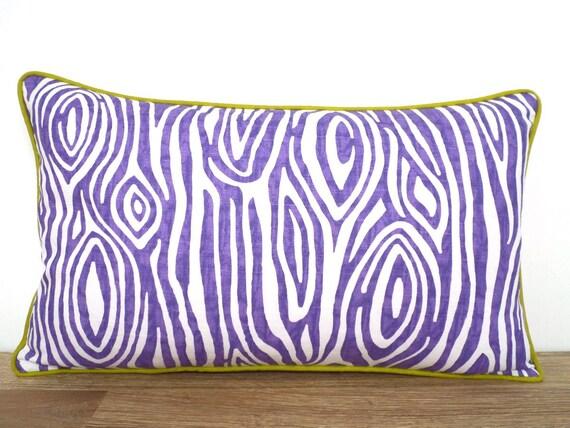 Animal Light Pillows : Light purple throw pillow cover animal print pillow case dorm