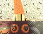 Cute and Creepy Monster Head, Halloween Plush - Franklin