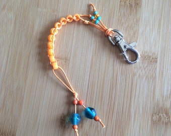 CLEMENTINE ORANGE  - Golf Counting Beads - MINI by TallyGators™