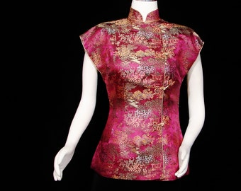 Blouse - Cheongsam Style - Gorgeous - Ying Tai Co. - Hong Kong