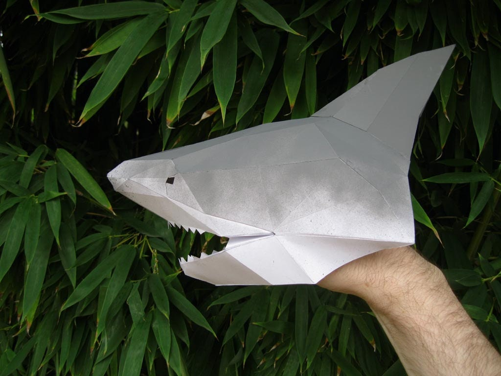 make your own shark hand puppet just paper and glue 128270zoom