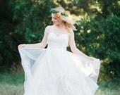Layered Skirt Wedding Dress - The Sadie Dress