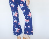 70s Bell Bottoms with Stars