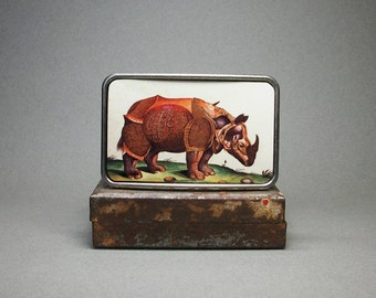 Belt Buckle Rhinoceros Rhino Armour Cool Mens Gift