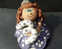 Cake Topper Princess Sofia Personalized Custom Handmade Birthday Cake Keepsake or Ornament
