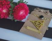 HUFFLEPUFF Harry Potter Bracelet Stack