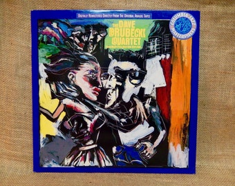 "Dave Brubeck Quartet - Plays Music From ""West Side Story""/""Wonderful Town"" - 1980s Vintage Vinyl Record Album"