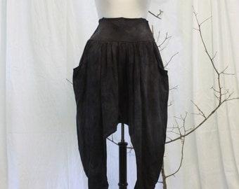 Natural dyed drape Pants