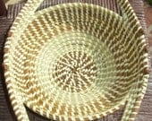 Traditional Sweetgrass Bread Basket (style 1)