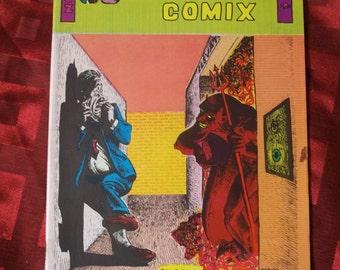 Weirdom Comix 1972 With POSTER Adult Content Underground Alternative