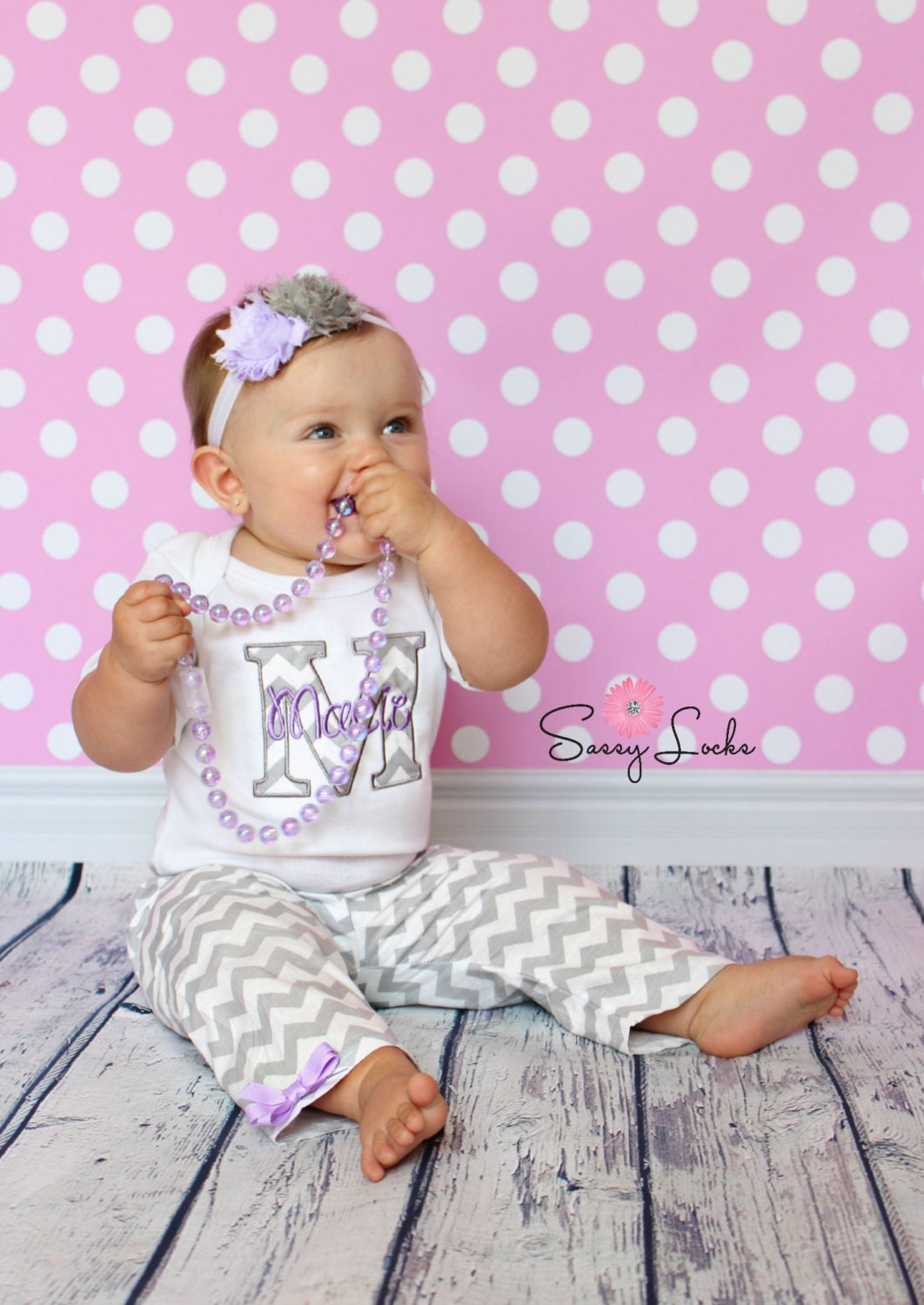 Personalized Baby Girl Clothes Newborn Girl Take Home Outfit
