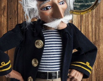 The Sea Wolf Czech Marionette Puppet
