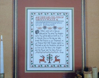 18th CENTURY SAMPLER Counted Cross Stitch Pattern By Graphique Needle Arts