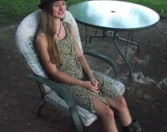 Sunflower Mini Dress Sleeveless