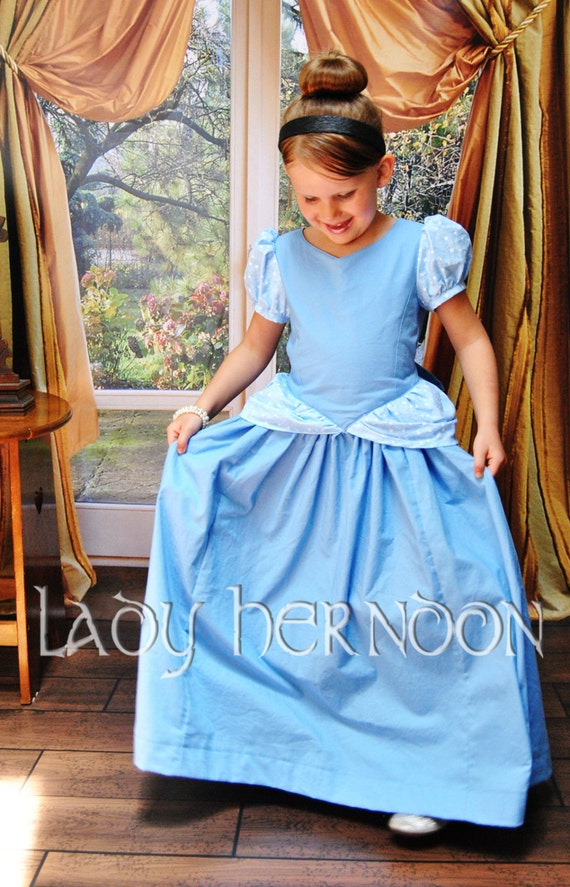 My Fairy Tale: Cinderella Dress - Sizes 2T, 3T, 4T, 5, 6, 7, 8 and 10