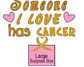 Support Childhood Cancer Research - Large Surprise Box Gift - ALL Proceeds Donated - Soap - Candles - Lotion - Perfume - Sachets - Scrub