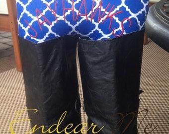 Kansas Jayhawks Boots Up by Endear Me Handmade boot stuffer Collegiate - closet organizer; boot trees