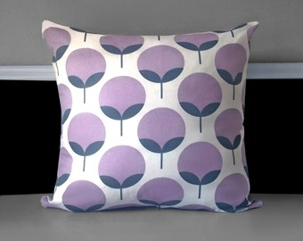 "Pillow Cover - Caroline Lavender 20"" x 20"", Ready to Ship"
