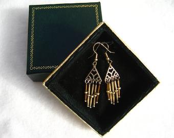 Gold Deco Earrings