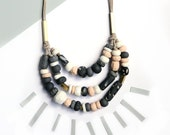 3 Strand Neutral Necklace