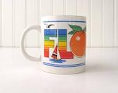 Vintage Florida Souvenir Coffee Mug