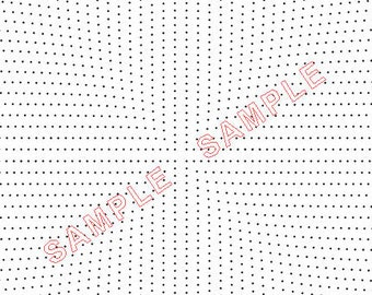 Plotadots - Torchon Circles - set of nine