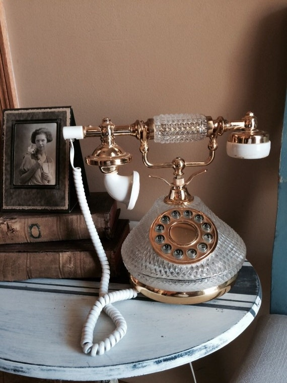 working vintage princess telephones