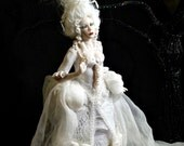 Ghost, OOAK Hand Sculpted Fantasy Art Doll Collectible
