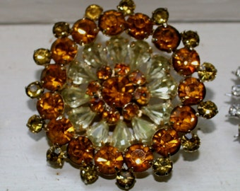 Vintage Costume Jewelry Brooches Coro Lot of Three