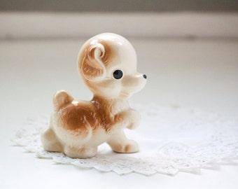 Vintage Puppy Figurine