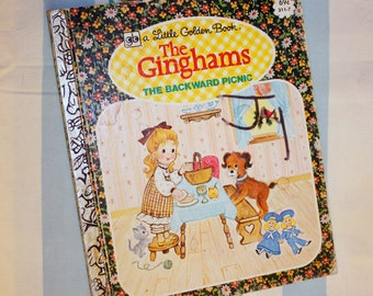 The Ginghams, The Backyard Picnic, 1979 Little Golden Book