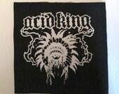 ACID KING PATCH - on Black Canvas