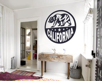 Golden State Decal Etsy - Custom vinyl decals for car interior