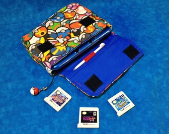 Pokeball 3DS / 3DS XL / New 3DS Carrying Case - MADE to ORDER